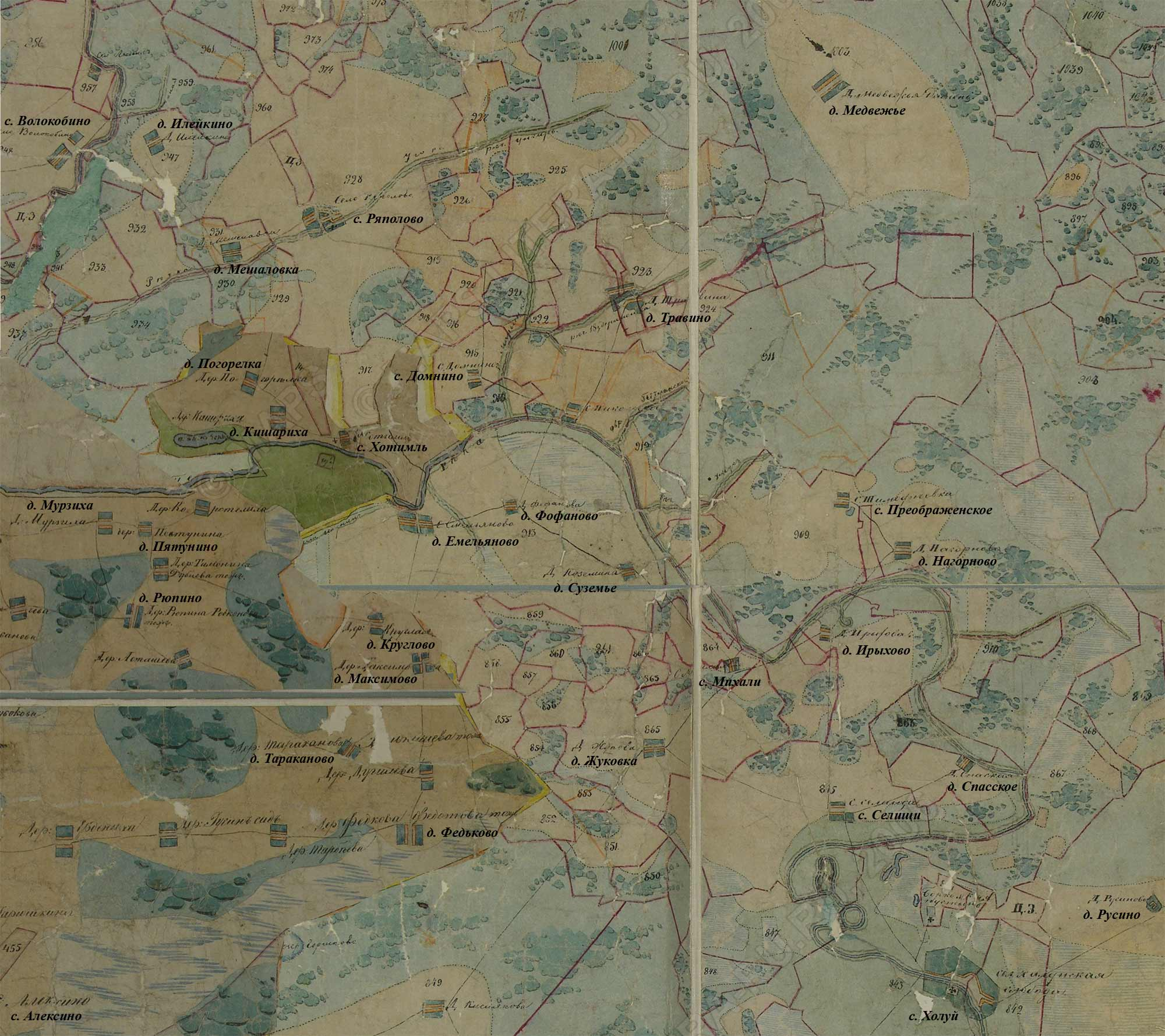 Деревня жуковка на карте